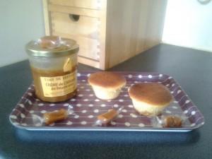 muffins au caramel salé