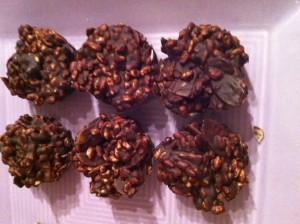 riz soufflé au chocolat