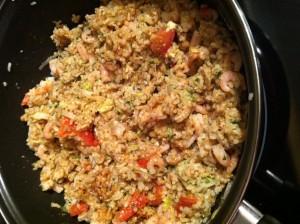 riz sauté thaï