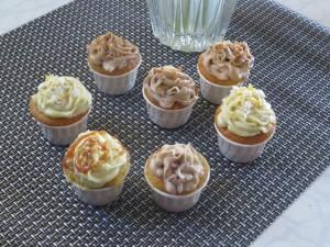 cupcakes banane noisette