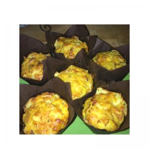 muffins chevre gouda