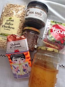 Ingrédients granola ilovemanger
