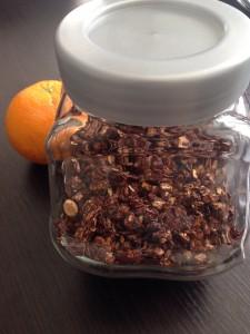 Bocal granola maison