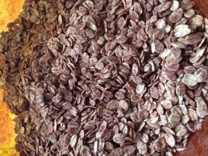 Ingrédients secs granola maison