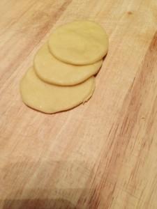 Cercles de pâte