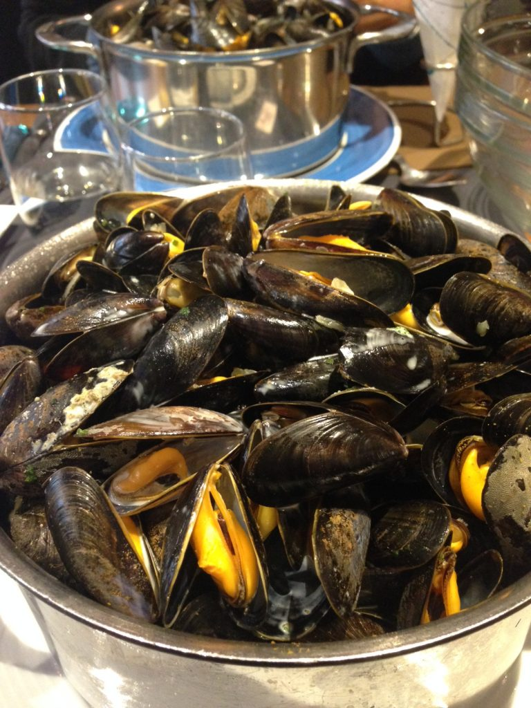 Moules au curry -Le Vivier
