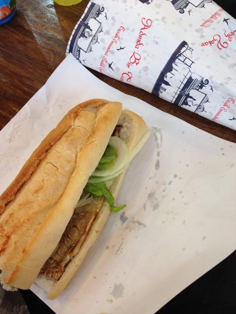 Sandwich de poisson