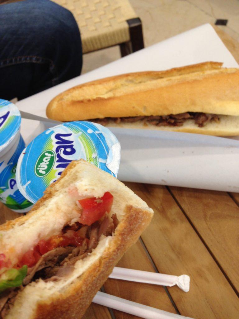 Kebab et ayran