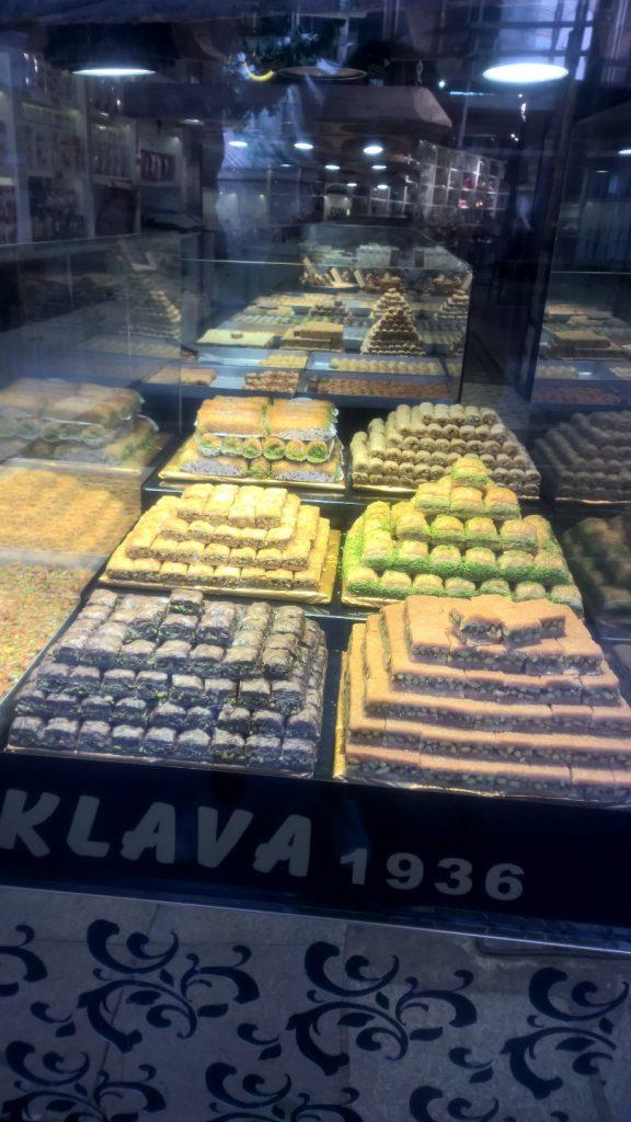 Gâteaux turcs